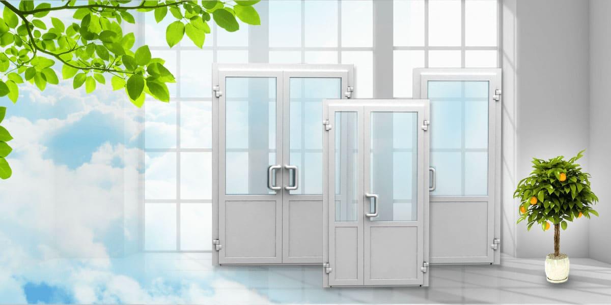 Металлопластиковые двери Одесса